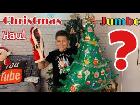 Περίεργα Χριστουγεννιάτικα Christmas Jumbo Haul #famoustoli