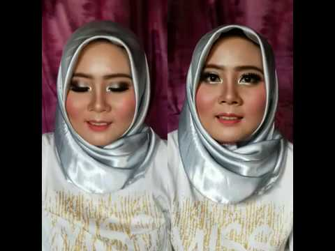 Tutorial Make Up Akad | Make Up In Temen| Lailatun Naimah