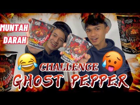 Download GHOST PEPPER CHALLENGE | PECAH MULUT HASIFCHOY DAN SHAZWAN