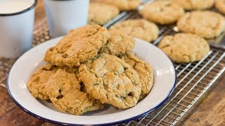 Brown Butter Oatmeal Cookies | March Cookie Of The Month