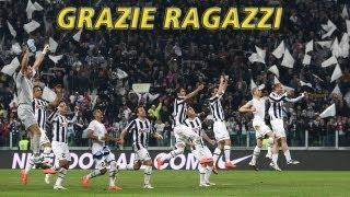 Juventus Campione d'Italia. Grazie ragazzi!
