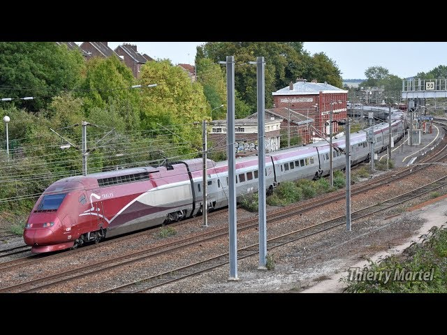 Thalys TGV PBKA - Rame n° 4346 et 4304
