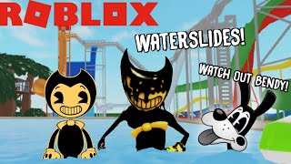 BENDY'S WATERPARK ADVENTURE IN ROBLOX! (BATIM ROBLOX)