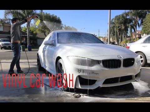 M3 | F80 How to Wash Vinyl Wrapped Cars