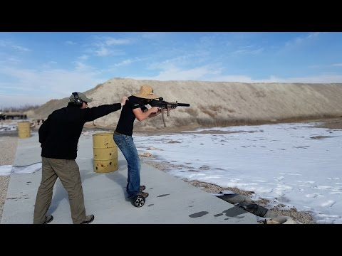 Hoverboard Shooting Drill - Extremely Practical