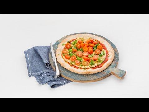 Pizza hummus en verse kruiden – Allerhande