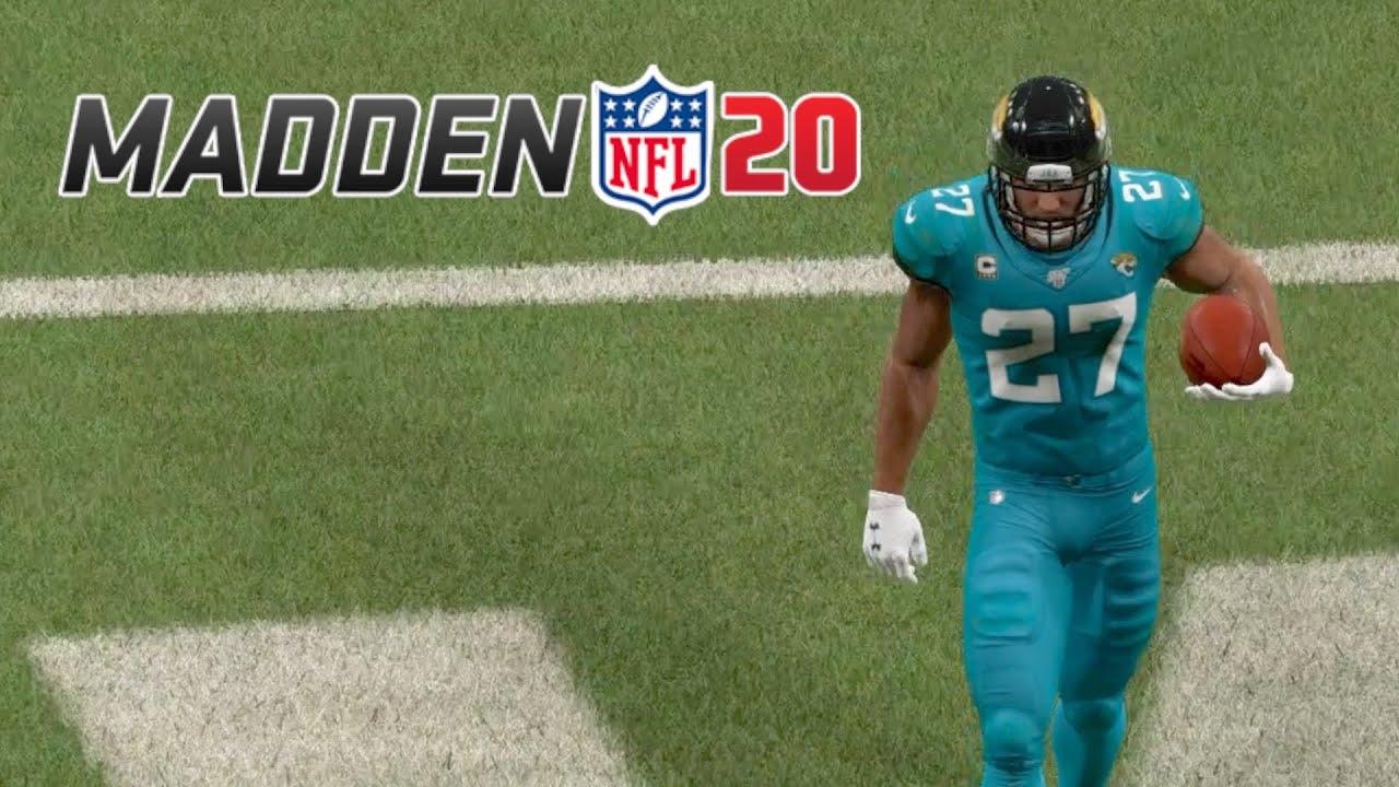 Leonard Fournette Runs The Show Against The Texans Madden 20 Online Ranked Gameplay Youtube