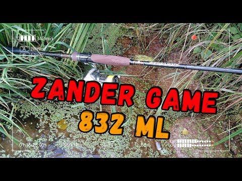 Спиннинг Zander Game 832ML. Новинка 2019 года от компании Hearty Rise. Первая проба на воде