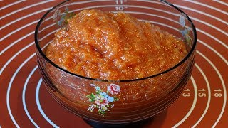 Аджика из Кабачков (Цуккини) на Зиму. Рецепт Великолепного Вкуса/Adjika from courgettes (zucchini)