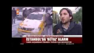 İstanbul'a kar geliyor... Havadelisi ATV'de.
