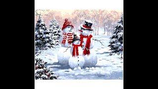 Зимний пейзаж картина маслом с алиэкспресс