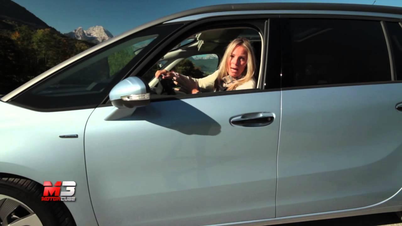 CITROEN GRAND C4 PICASSO 2014 - TEST DRIVE - YouTube