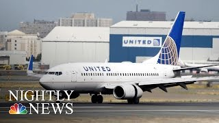 United Passenger Files Emergency Court Petition Over Flight Incident   NBC Nightly News