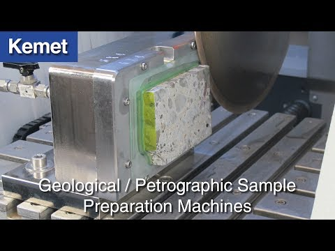 Geology Thin Section Preparation Machines & Equipment