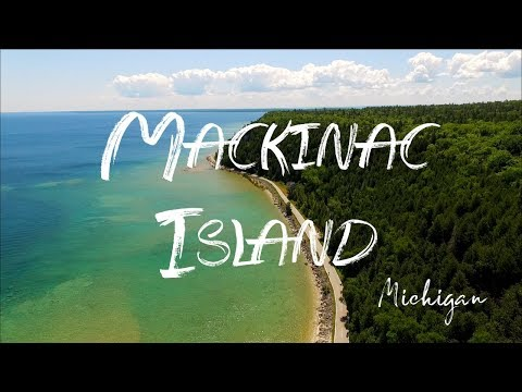 Mackinac Island By Gopro4 And Drone