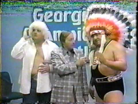 Dusty Rhodes & Wahoo McDaniel Interview [GCW 1980]