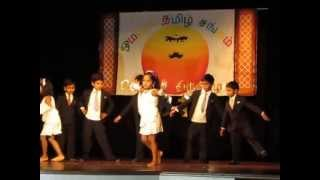 Omaha Tamil Bad Boys Cute Girls Dance Performance 2013 Tamil New Year