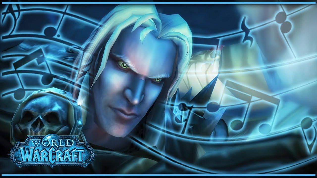 Любимая музыка World of Warcraft (Classic, The Burning Crusade, Wrath of the Lich King и др.)