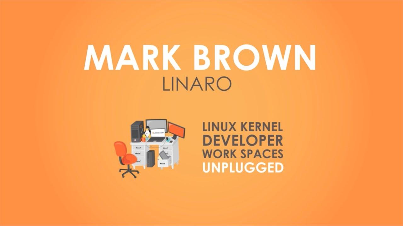Kernel Developer Workspaces: Linaro's Mark Brown - Travel Edition