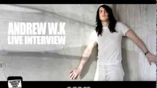 Andrew W.K. Interview on FOE Radio