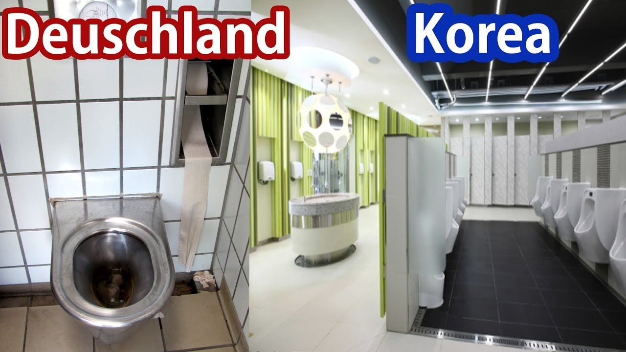 deutschland vs korea toiletten vergleich saubere. Black Bedroom Furniture Sets. Home Design Ideas
