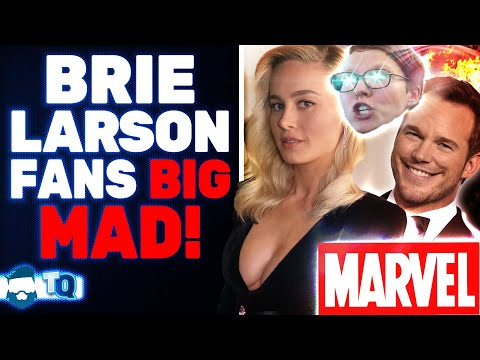 Brie Larson Fans RAGE Over Chris Pratt Getting Support From The Avengers Cast