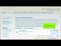 How to manage a forum in in phpBB