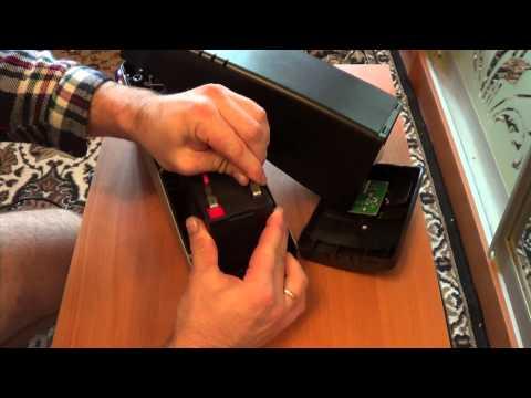 Замена аккумулятора в ибп