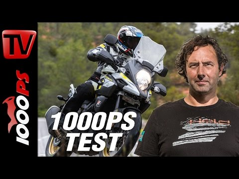 1000PS Test - Suzuki V-Strom 1000 2017