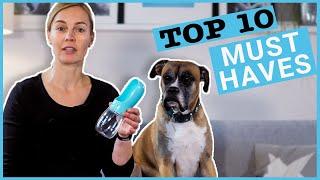10 Must Haves für Hundehalter I Nützliches Hundezubehör für deinen Hund I Mit Anwendungstipps