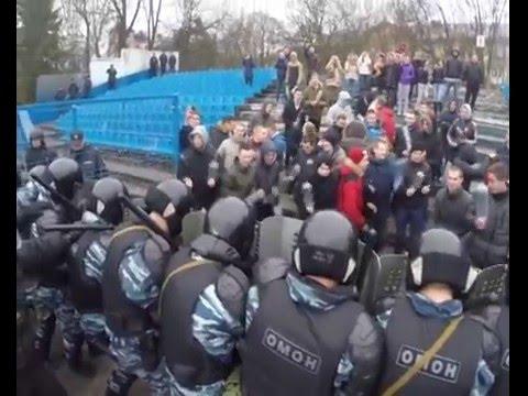 Калининградская полиция готова обеспечить безопасность любителей футбола