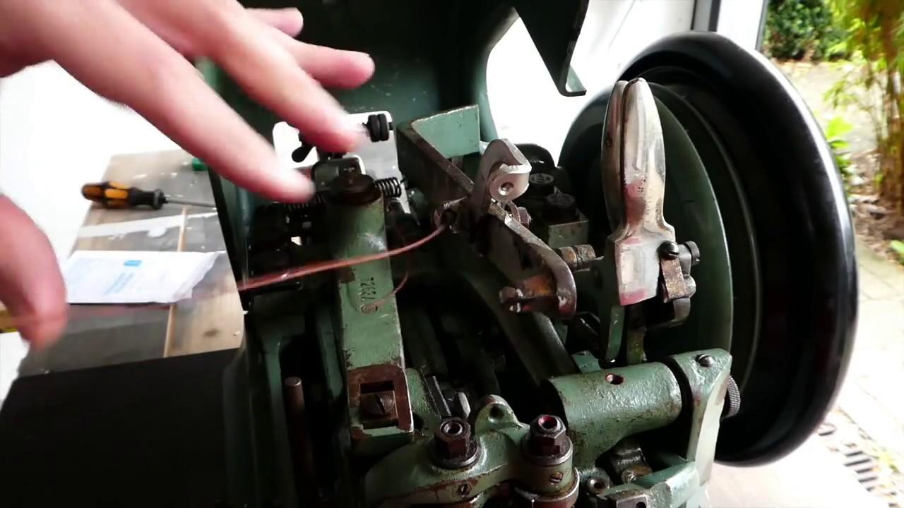 Gebrauchsanweisung für Doppelmaschine Rafflenbeul Ms 55