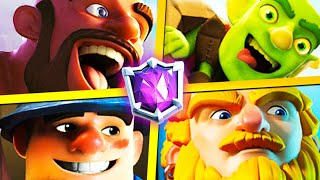 Clash Royale but every match is a different cycle deck