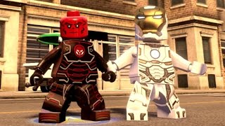 LEGO Marvel's Avengers - Residential Area 100% Guide (All Collectibles)