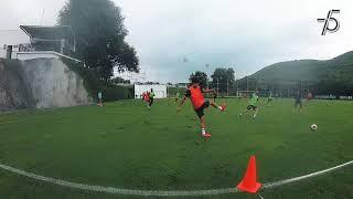 Las imágenes del entrenamiento de hoy, con toda la Actitud Rayada.