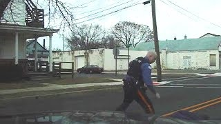 Dashcam footage of Millville fatal police shooting