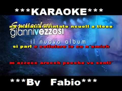 Gianni Vezzosi ce l´hai con me Karaoke completo