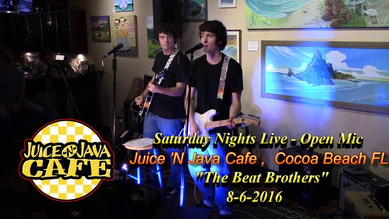 The Beat Brothers Juice N Java Cafe In Cocoa Beach Fl