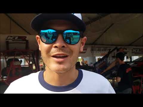 Kyle Larson talks about annual Outlaw Kart Showcase