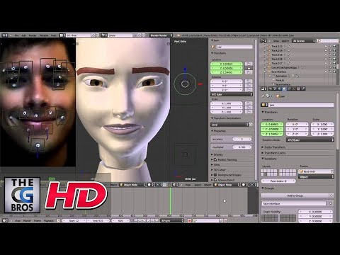 "CGI Facial MocapTutorial :  ""Facial Mocap Using Blender"" by - Emilio Riquelme"