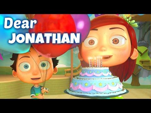 Happy Birthday Song to Johnathan
