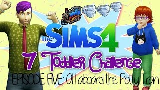 The Sims 4 - Seven Toddler Challenge | Episode 5 -