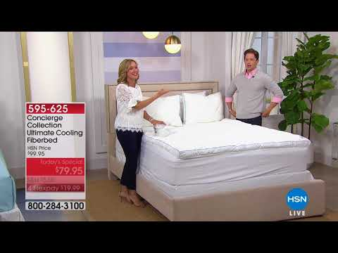 HSN | Concierge Collection Bedding 04.07.2018 - 04 PM