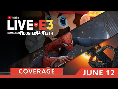 E3 2018: Nintendo Conference & DAY ONE Coverage feat. Spider-Man, Tomb Raider, Anthem & MORE!