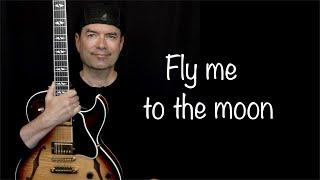 Fly me to the moon - Jazz Guitar Improvisation - Achim Kohl