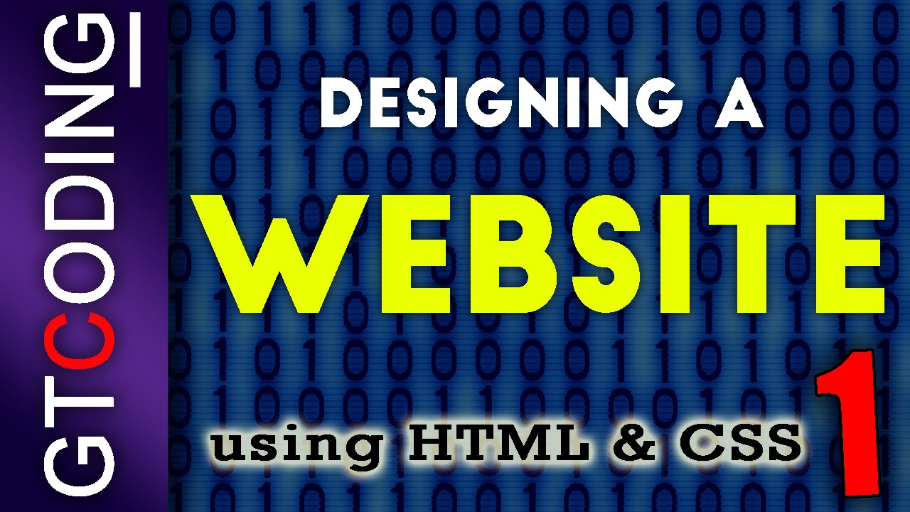 How To Quickly Create A Website Using Html And Css Youtube
