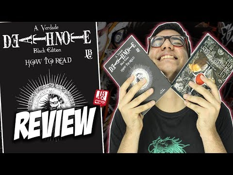 [review]-death-note---how-to-read---databook-oficial-em-formato-black-edition