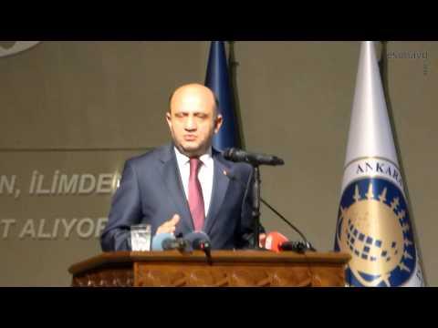 Fikri Işık (BST Bakanı) - Ankara Üniversitesi Teknokent Açılışı Konuşması