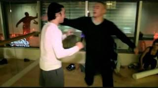Jean-Claude Van Damme vs daughter's Ex-Boyfriend (Sparring)