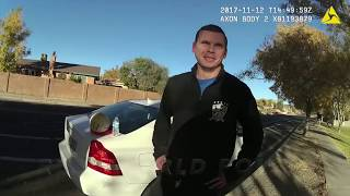 Albuquerque Police Officer Attacks Man Having Affair With His Wife